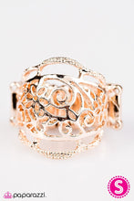 Load image into Gallery viewer, Paparazzi ♥ Gorgeous Gardens - Rose Gold ♥ Ring