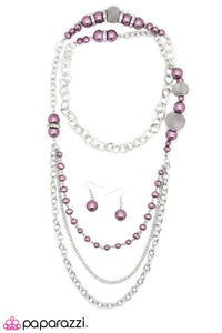 Paparazzi ♥ Enmeshed In Elegance - Purple ♥ Necklace