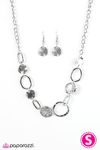 Paparazzi ♥ Cave Creek - Silver ♥ Necklace