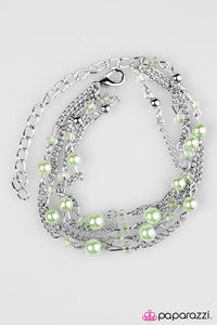 Paparazzi ♥ Summer Sensation - Green ♥ Bracelet