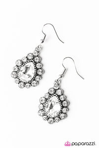 Paparazzi ♥ Release Your Inner Sparkle - White ♥ Earrings