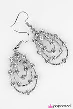 Load image into Gallery viewer, Paparazzi ♥ Tempting Tempest - White ♥ Earrings