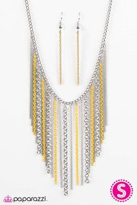 Paparazzi ♥ Dare To Be Different - Yellow ♥ Necklace