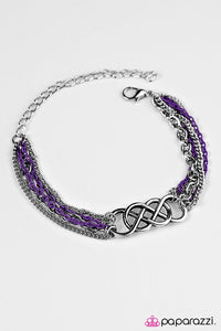 Paparazzi ♥ Colorful Collaboration - Purple ♥ Bracelet