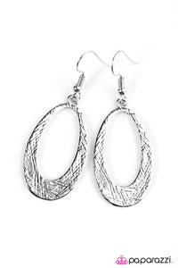 Paparazzi ♥ Be The Light - Silver ♥ Earrings