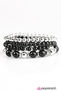 Paparazzi ♥ Party Like Gatsby - Black ♥ Bracelet
