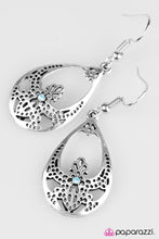 Load image into Gallery viewer, Paparazzi ♥ Tranquil Twinkle - Blue ♥ Earrings