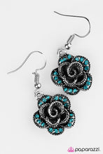 Load image into Gallery viewer, Paparazzi ♥ Give Her Roses - Blue ♥ Earrings