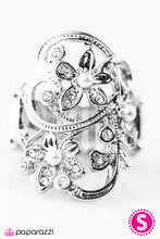 Load image into Gallery viewer, Paparazzi ♥ Walking In Wonderland - White ♥ Ring
