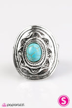 Load image into Gallery viewer, Paparazzi ♥ A Tribal Affair - Blue ♥ Ring