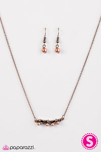 Paparazzi ♥ The Seven Year RICH - Copper ♥ Necklace