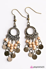 Load image into Gallery viewer, Paparazzi ♥ Gypsy Jamboree - Brown ♥ Earrings