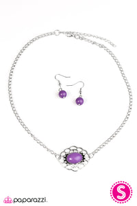 Paparazzi ♥ Every Summer Has A Story - Purple ♥  Necklace