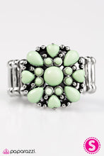 Load image into Gallery viewer, Paparazzi ♥ Summer Haze - Green ♥ Ring