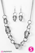 Load image into Gallery viewer, Paparazzi ♥ Tidal Treasure - Silver ♥  Necklace
