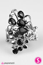 Load image into Gallery viewer, Paparazzi ♥ Sparkle Splash - Black ♥  Ring
