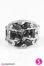 Load image into Gallery viewer, Paparazzi ♥ Moonbeam Light - Black ♥  Ring
