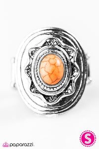 Paparazzi ♥ A Tribal Affair - Orange ♥ Ring
