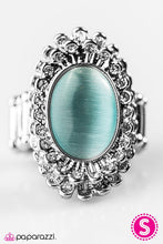 Load image into Gallery viewer, Paparazzi ♥ Frozen Wonderland - Blue ♥ Ring