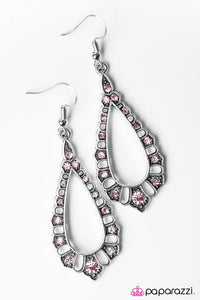 Paparazzi ♥ Girl Glam - Pink ♥ Earrings