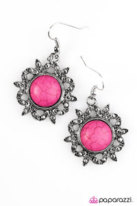 Paparazzi ♥ Earth Day - Pink ♥ Earrings