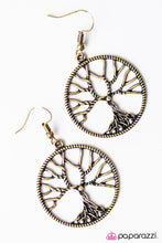 Load image into Gallery viewer, Paparazzi ♥ I WILLOW Survive - Brass ♥ Earrings