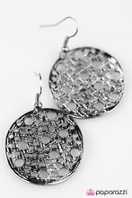 Load image into Gallery viewer, Paparazzi ♥ The HOLE Wide World - Black ♥ Earrings