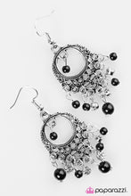 Load image into Gallery viewer, Paparazzi ♥ Paris After Midnight - Black ♥ Earrings