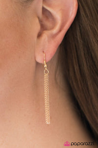 Paparazzi ♥ Home Is Where The Tribe Is - Gold ♥ Necklace