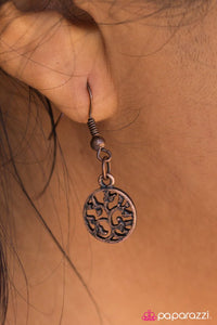 Paparazzi ♥ Make Like A Tree... - Copper ♥ Necklace