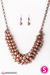 Paparazzi ♥ Lets Be Mermaids - Copper ♥ Necklace