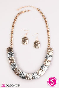 Paparazzi ♥ GLAM Cave - Multi ♥ Necklace