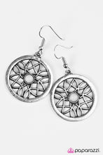 Load image into Gallery viewer, Paparazzi ♥ Pinch Me, Im GLEAMING - Silver ♥ Earrings