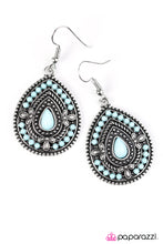 Load image into Gallery viewer, Paparazzi ♥ Dropping Daylight - Blue ♥  Earrings