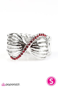 Paparazzi ♥ Pretty As A Bow - Red ♥ Ring