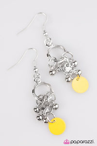 Paparazzi ♥ The Sun Will Rise - Yellow ♥ Earrings