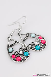 Paparazzi ♥ Lost At Sea - Multi ♥  Earrings