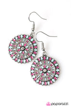 Load image into Gallery viewer, Paparazzi ♥ Flowers and Ferris Wheels - Multi ♥  Earrings