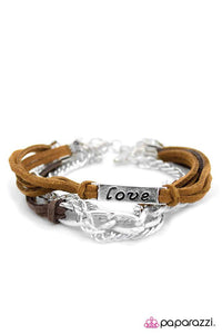 Paparazzi ♥ I Will Never Break Your Heart - Brown ♥ Bracelet