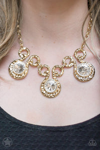 Paparazzi ♥ Hypnotized - Gold ♥ Necklace