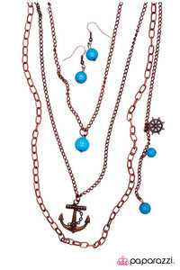 Paparazzi ♥ Sailing the Radiant Seas - Copper ♥ Necklace