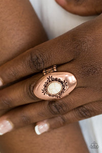 Paparazzi ♥ Stone Gardens - Copper ♥ Ring
