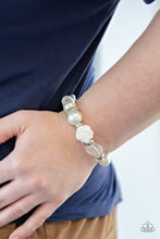 Load image into Gallery viewer, Paparazzi ♥ Here I Am - White ♥  Bracelet
