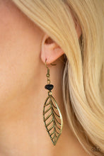 Load image into Gallery viewer, Paparazzi ♥ BOUGH Out - Brass ♥ Earrings