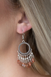 Paparazzi ♥ Paradise Palace - Brown ♥  Earrings