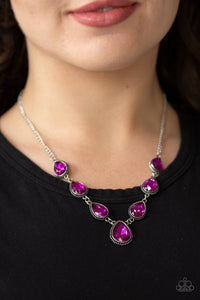 Paparazzi ♥ Socialite Social - Pink ♥ Necklace
