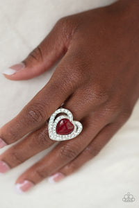 Paparazzi ♥ What The Heart Wants - Red ♥  Ring