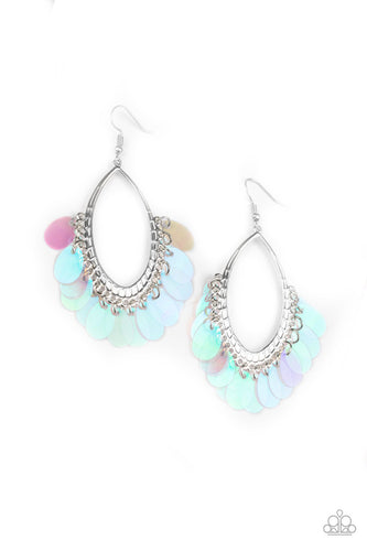 Paparazzi ♥ Mermaid Magic - Multi ♥  Earrings