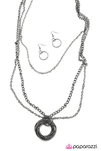 Paparazzi ♥ Hallelujah - Black ♥ Necklace