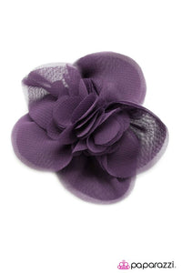 Paparazzi ♥ Bookworm - Purple ♥ Hair Clip